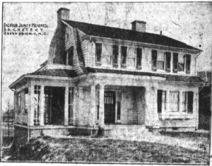 Brooks Lumber Showhouse on Florence Street - Greensboro Daily News, 7 Jul 1916, Fri, Page 7