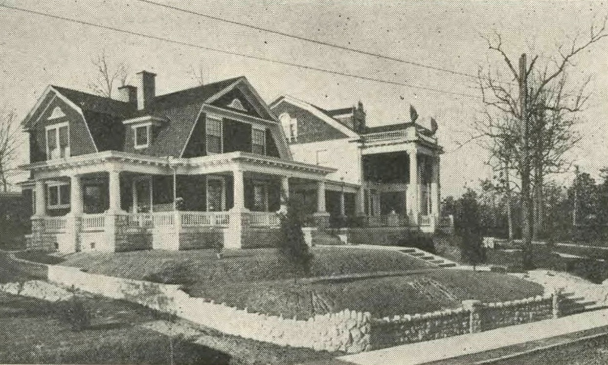 Tour of historic homes preservation greensboro incorporated for Victorian colonial homes